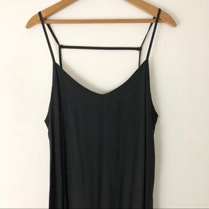 RVCA Black Strappy Dress